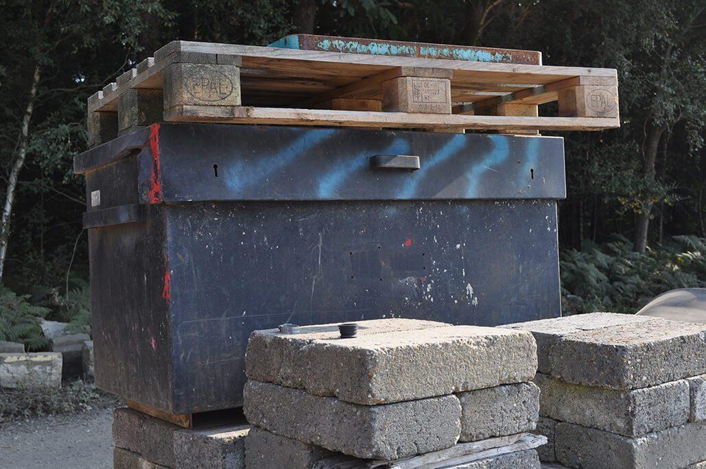 Lockable Site Safe Storage Box