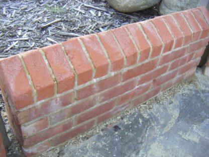 Reproduction coping bricks and wall bricks