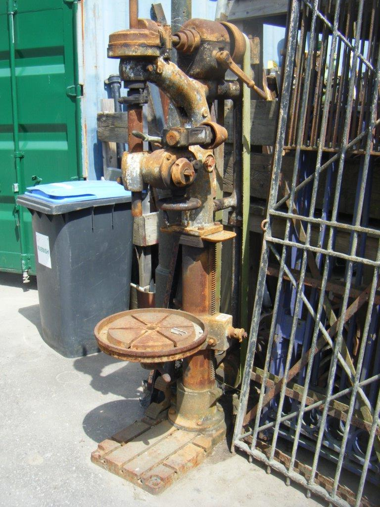 Antique Pillar Drill