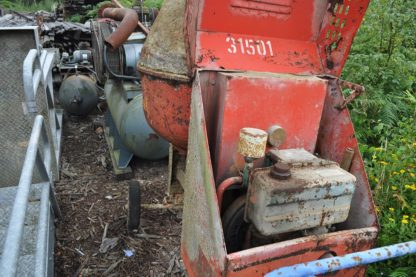 Cement Mixer with Lister Engine