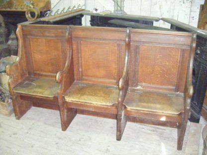 Pews Oak Seats