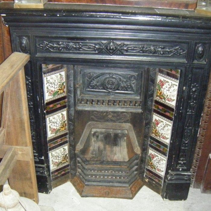 Original Victorian Fireplace