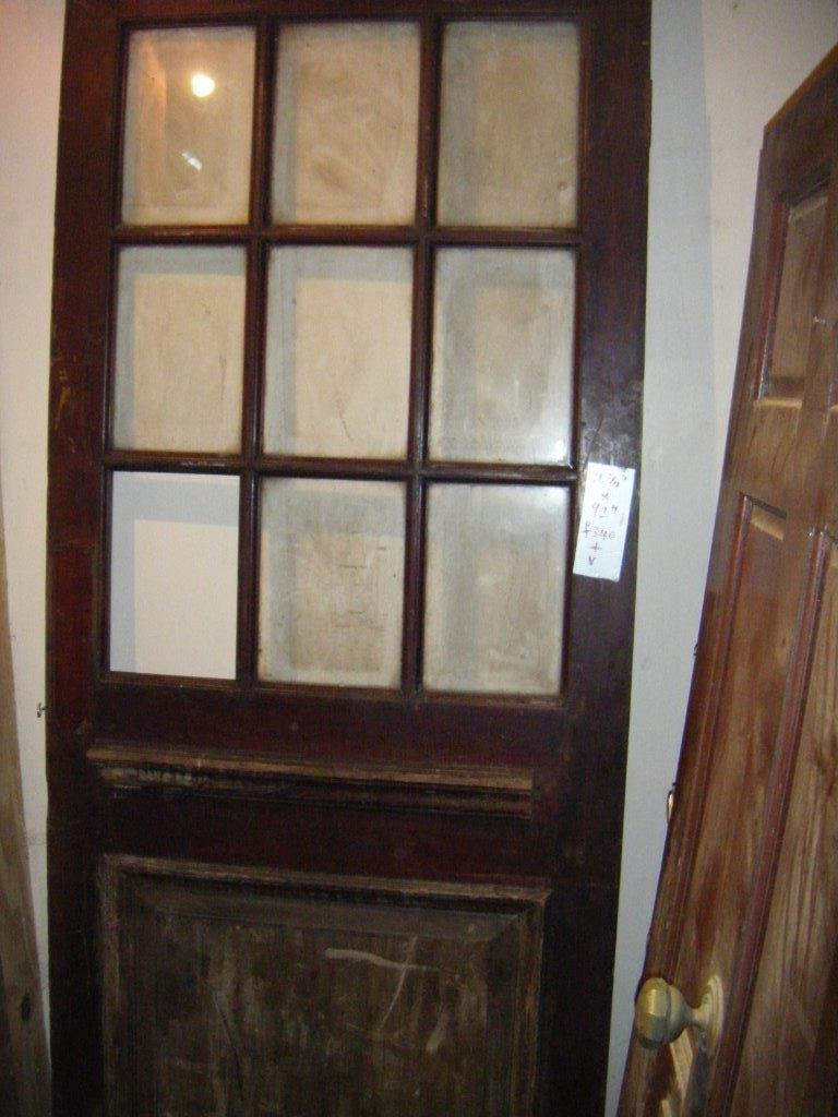 Exterior Hardwood Door