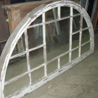 Victorian Arched Window transformed into Antique Mirror