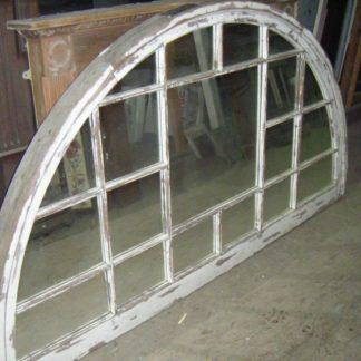 Victorian Arched Window transformed into Antique Mirror