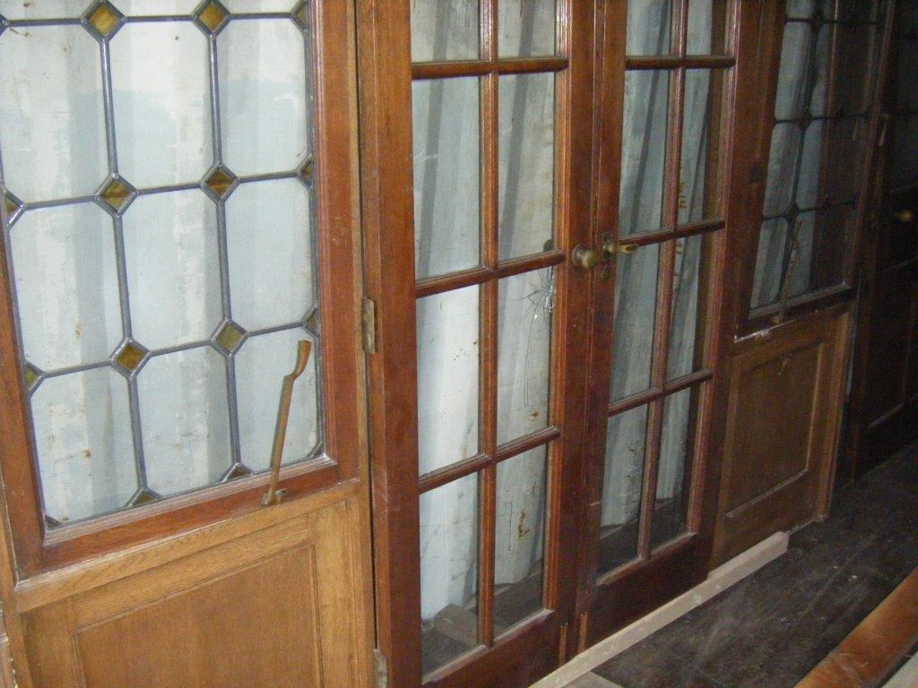 Stunning Pair of oak doors