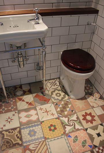 Dorton bathroom tiles