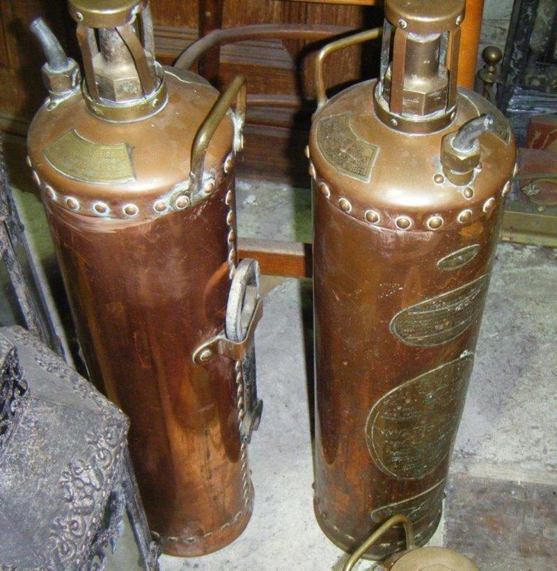 Vintage Extinguishers