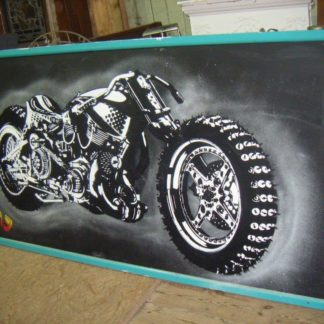 Racing Motor Bike Picture