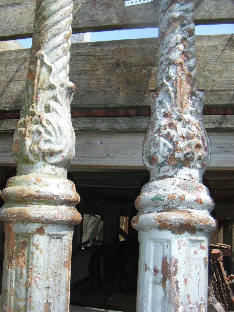 Ornate lamp posts
