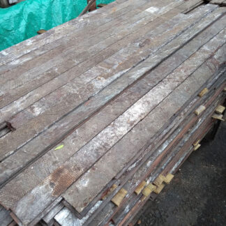 Mahogany floor boards